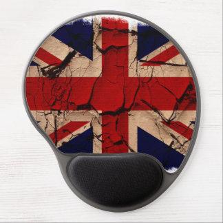 Vintage sucio Reino Unido Alfombrilla De Raton Con Gel