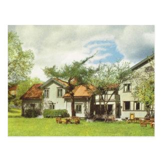 Vintage Suecia, albergue juvenil, Sigtuna Postal