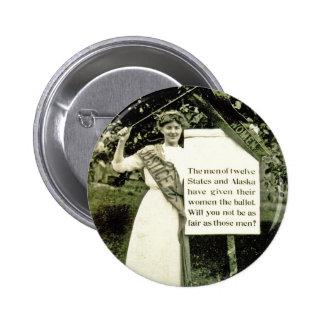 Vintage Suffragette Pin