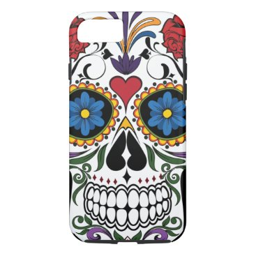 Vintage Sugar Skull iPhone 8/7 Case