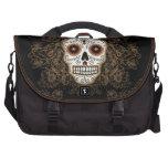 Vintage Sugar Skull Commuter/Laptop Bag