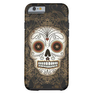 Vintage Sugar Skull iPhone 6 case