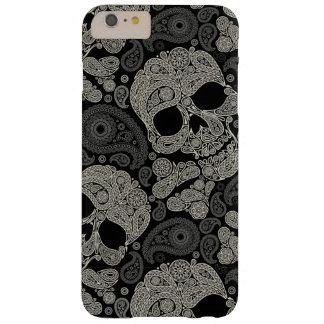 Vintage Sugar Skull Pattern iPhone 6 Plus Case