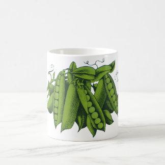 Vintage Sugar Snap Peas, Foods, Healthy Vegetables Coffee Mug