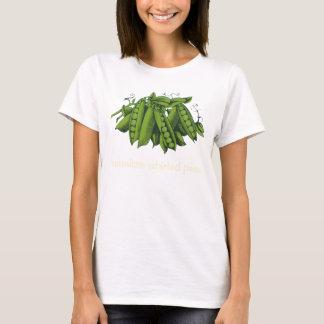 Vintage Sugar Snap Peas, Foods, Healthy Vegetables T-Shirt