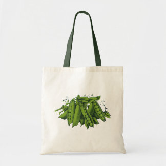 Vintage Sugar Snap Peas, Foods, Healthy Vegetables Tote Bag