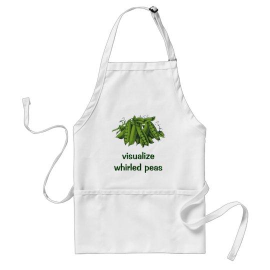 Vintage Sugar Snap Peas, Healthy Food Vegetables Adult Apron