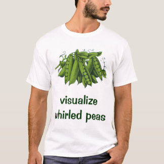 Vintage Sugar Snap Peas, Healthy Food Vegetables T-Shirt