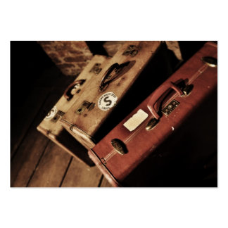 Vintage Suitcases Business Cards