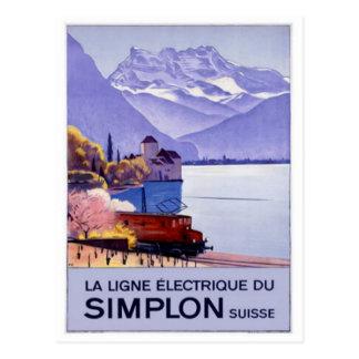 Vintage Suiza - Tarjeta Postal