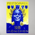 Vintage Summer Fest Poster