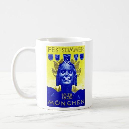 Vintage Summer Fest Poster Coffee Mug