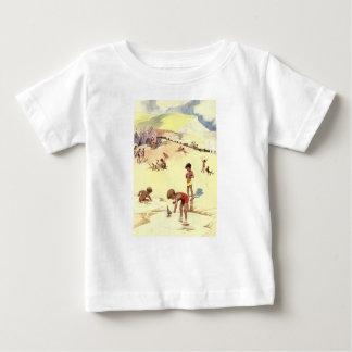 Vintage Summer Holiday at the Beach Baby T-Shirt