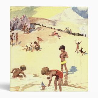 Vintage Summer Holiday at the Beach Binder