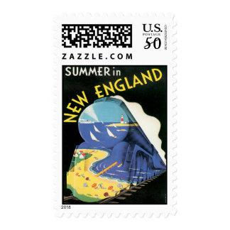 Vintage Summer in New England Postage