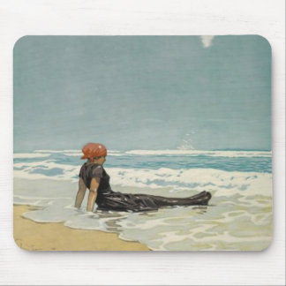 Vintage Summer Mousepad From The Beach