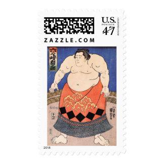 Vintage Sumo Stamp