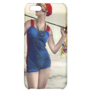 Vintage Sun Bather Beach Babe 4  iPhone 5C Cover