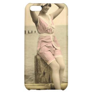 Vintage Sun Bather Beach Babe 4  iPhone 5C Covers
