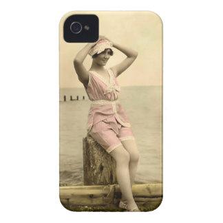 Vintage Sun Bather Beach Babe Case-Mate Case
