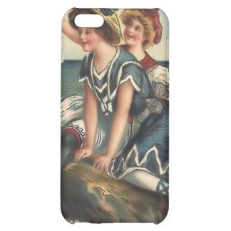 Vintage Sun Bather Beach Babes 4  iPhone 5C Cases