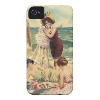 Vintage Sun Bather Beach Babes Case-Mate Case iPhone 4 Case-Mate Cases