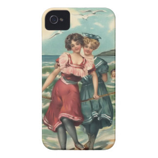 Vintage Sun Bather Beach Babes Case-Mate Case Case-Mate iPhone 4 Cases