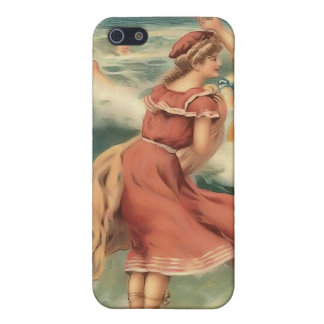 Vintage Sun Bather Beach Babes iPhone 4 Speck Case iPhone 5 Cases
