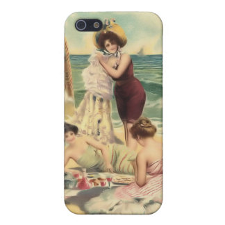 Vintage Sun Bather Beach Babes iPhone 5C case