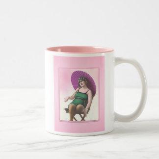 Vintage Sun Bather Mug