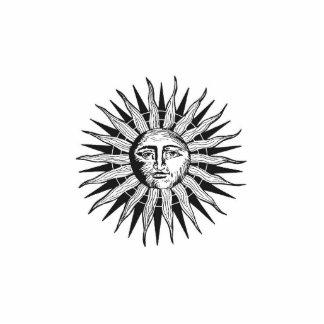 Vintage Sun Cutout