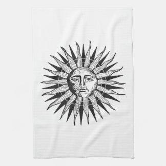 Vintage Sun Hand Towel