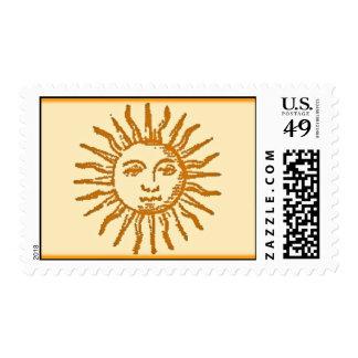 Vintage Sun Postage