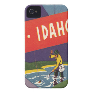 Vintage Sun Valley Idaho Case-Mate iPhone 4 Cases