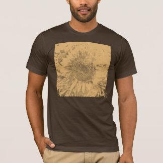 Vintage Sunflower artwork #2 T-shirt