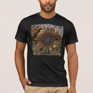 Vintage Sunflower artwork #4 T-shirt