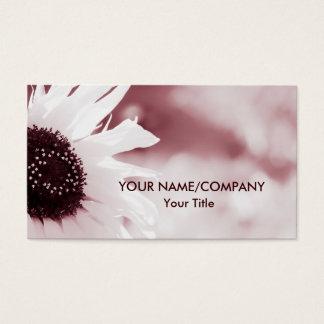 Vintage Sunflower Business Card