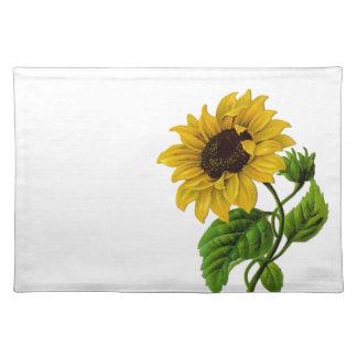 Vintage Sunflower Custom Gift Item Cloth Placemat