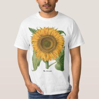 Vintage Sunflower Flower by Basilius Besler T-Shirt