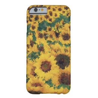 Vintage Sunflower painting art - iPhone 6 case