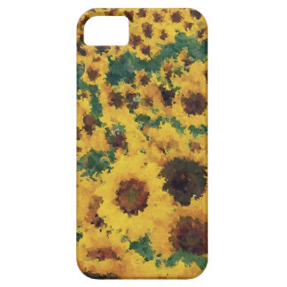Vintage Sunflower painting art - iphone case iPhone 5 Cover