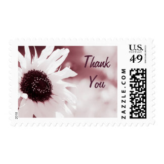 Vintage Sunflower - Thank You Stamp