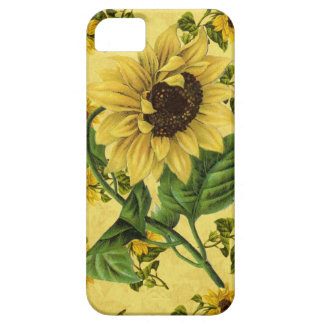 Vintage Sunflowers iPhone 5 Cover