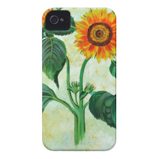Vintage Sunflowers iPhone 4 Cover