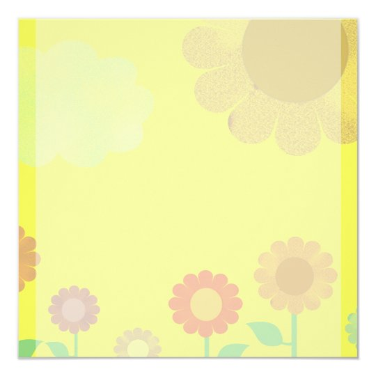 Vintage Sunshine Card