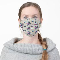 Vintage Super Grover Adult Cloth Face Mask