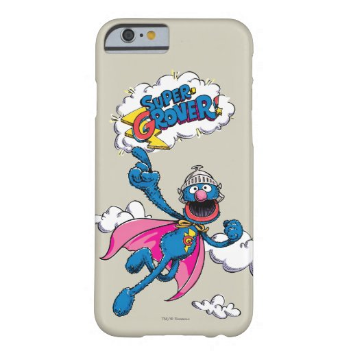 Vintage Super Grover Barely There iPhone 6 Case
