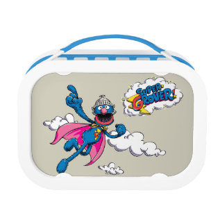 Vintage Super Grover Lunch Box at Zazzle