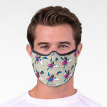 Vintage Super Grover Premium Face Mask