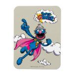 Vintage Super Grover Rectangular Photo Magnet